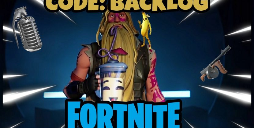 "Use Code: ""Backlog"" in Fortnite"