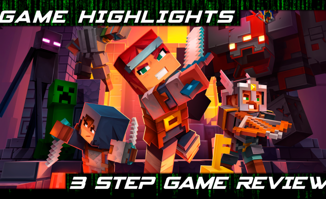 minecraft dungeons cover for game highlights